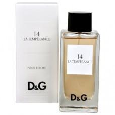 Dolce Gabbana 14 La Temperance edt w
