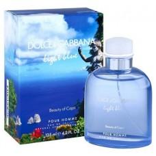 Dolce Gabbana Light Blue Beauty of Capri Pour Homme edt m