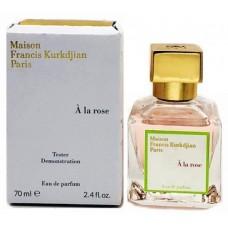Maison Francis Kurkdjian A La Rose edp w